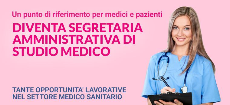 Diventa segretaria di studio medico